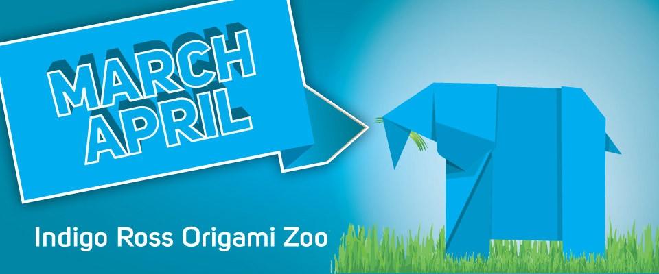 Origami Zoo with Indigo Ross