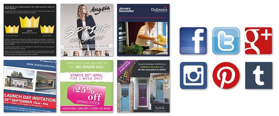 Social Media Campaigns with Indigo Ross, Sudbury, Suffolk