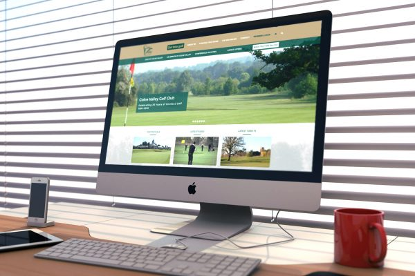 Colne Valley Golf Club, Earls Colne, Essex, Website Design