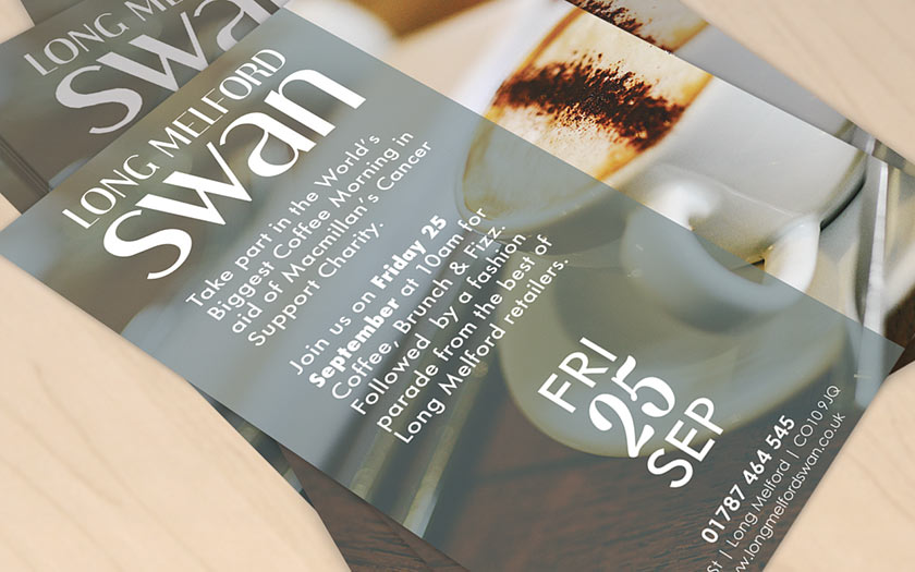 Flyer Printing, Sudbury, Suffolk, Bury St Edmunds, Ipswich