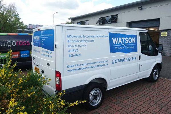 Van Livery Graphics, Design and Fitting, Sudbury, Suffolk