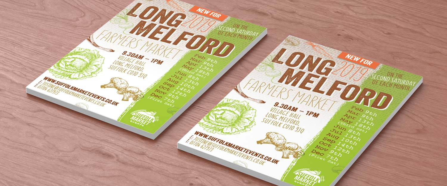 Leaflet, Flyer Printing, Sudbury, Suffolk - Indigo Ross Design and Print