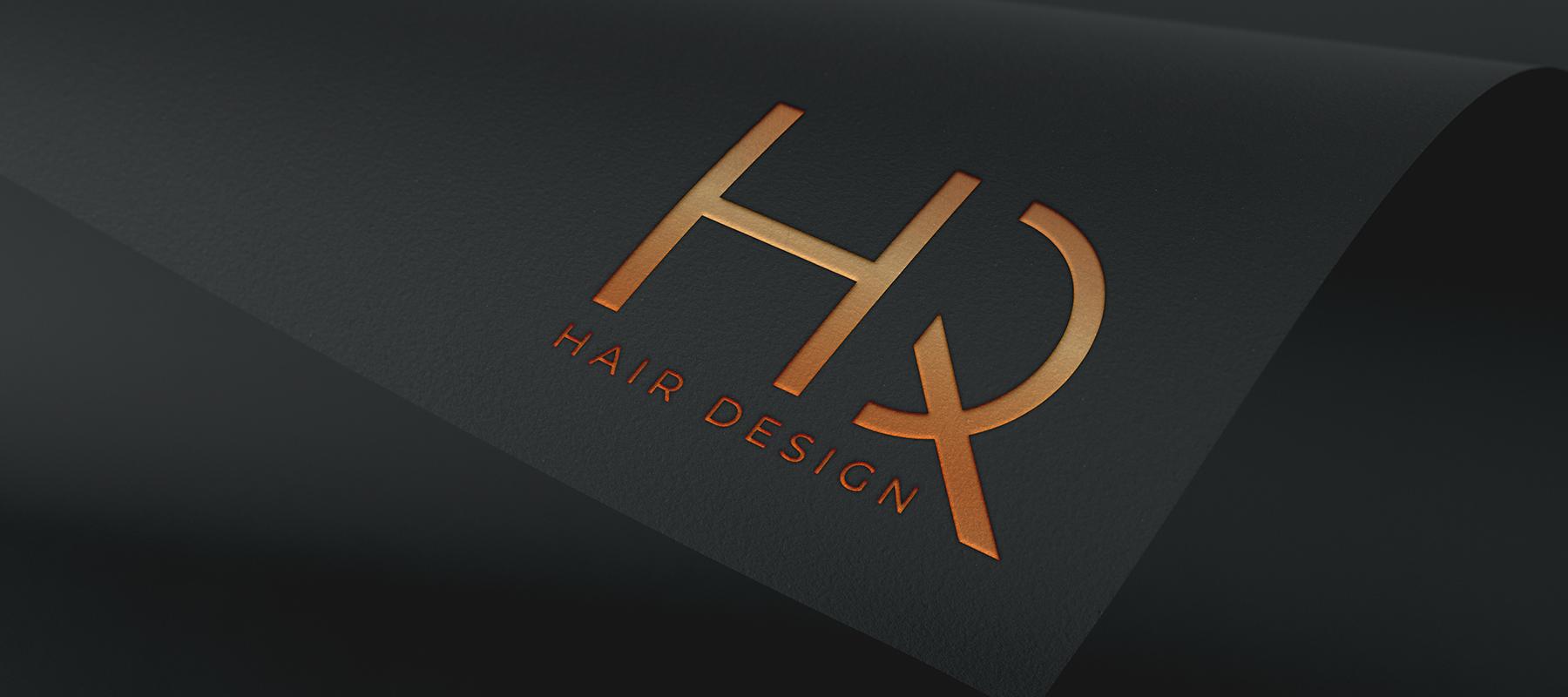 HQ Hair Design, Logo, Brand Identity, Sudbury, Suffolk - Indigo Ross