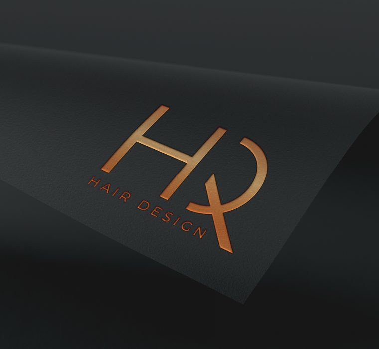 HQ Hair Design, Logo, Brand Identity, Sudbury, Suffolk - Indigo Ross