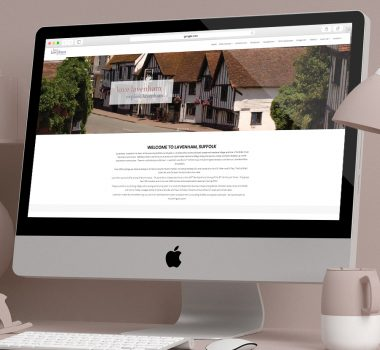 Love Lavenham Website - Web Design, Lavenham, Suffolk - Indigo Ross