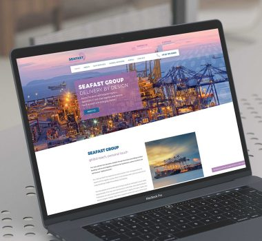 Website Design, Sudbury, Suffolk - Seafast - Indigo Ross