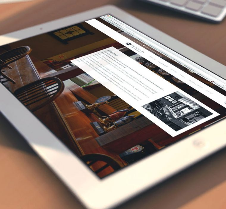 The Crown Inn Hotel, Web Design, Long Melford, Suffolk