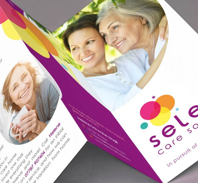 Select Care Solutions, Fold Out, Design and Print, Sudbury, Suffolk