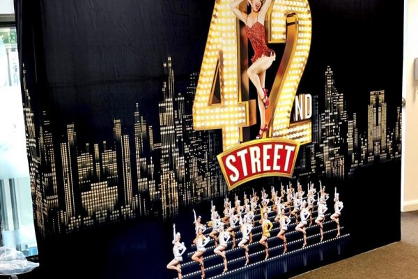 42nd Street Fabric Pop-Up