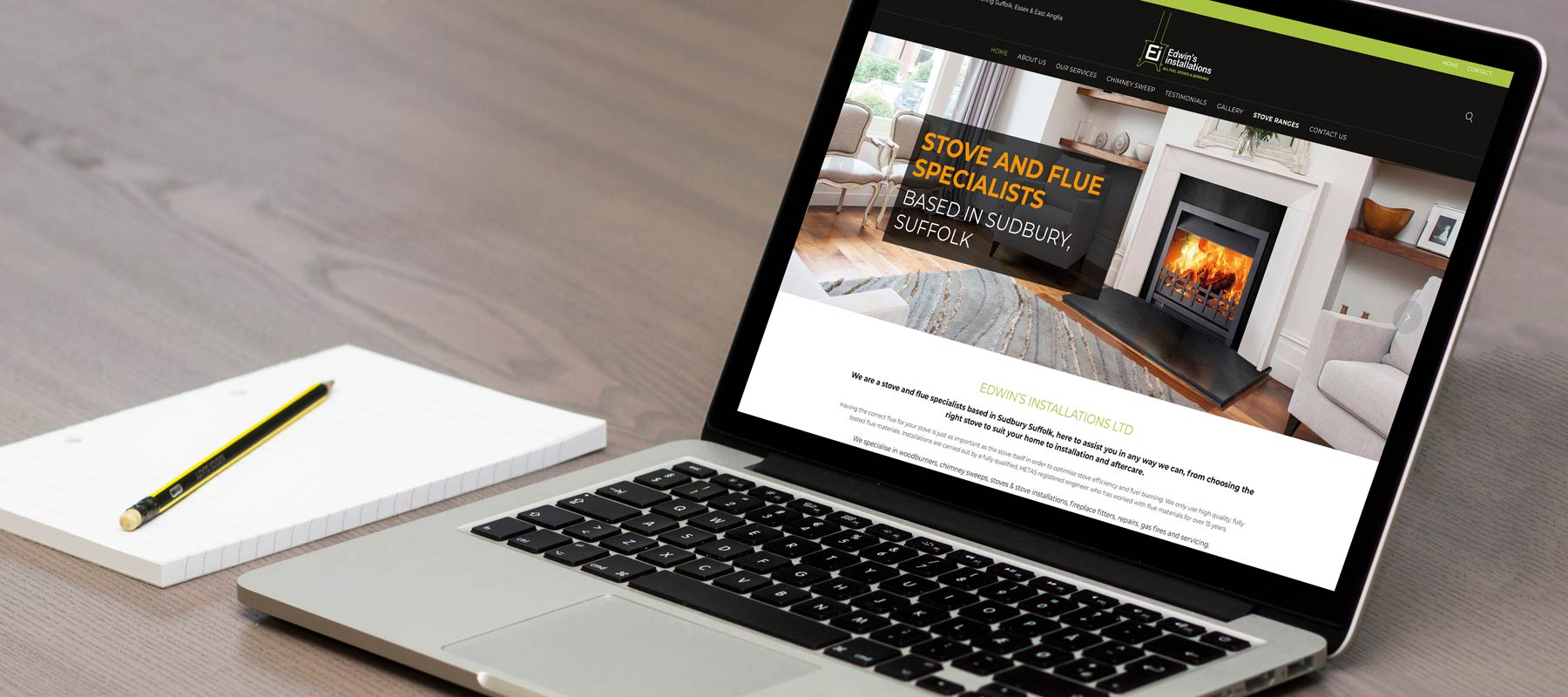 Edwins Installations - Website - Web Design - Website Design - Sudbury - Suffolk