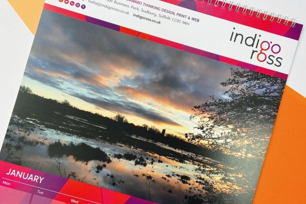 Who has our IndigoRoss 2021 Calendar up??