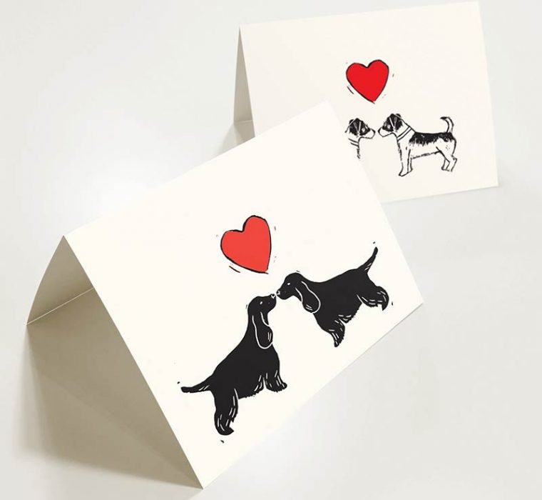 Ratty Golightly - Valentines Day Greeting Card