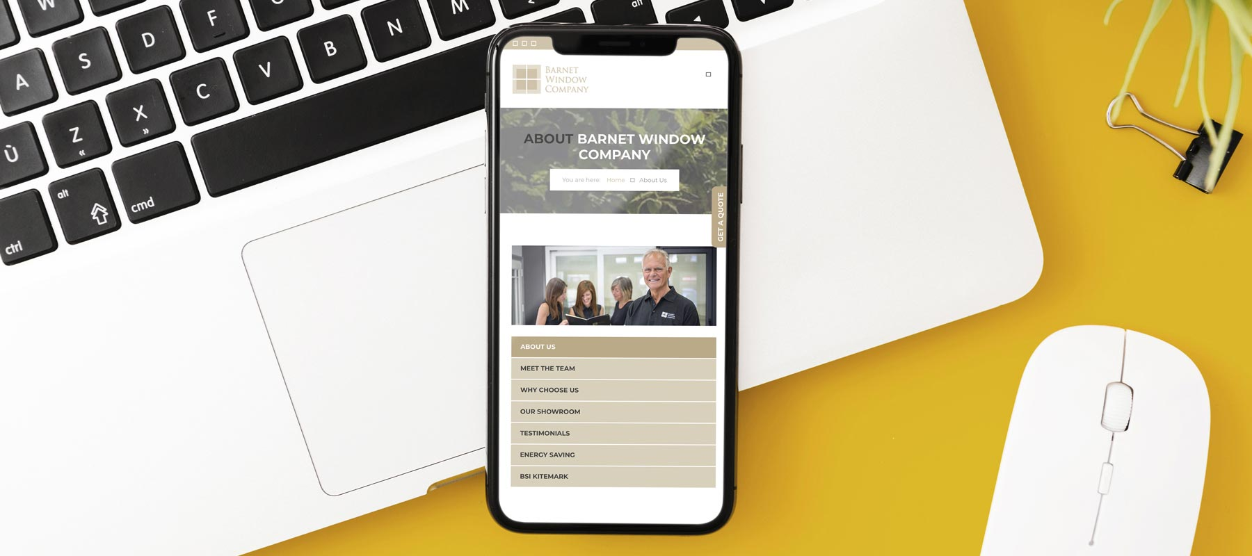 Barnet Window Company - Website Design and Build