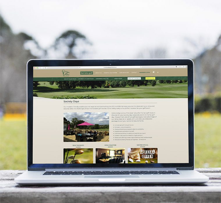 Colne Valley Golf Club - Website