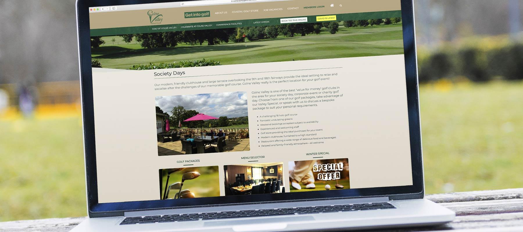 Colne Valley Golf Club - Website