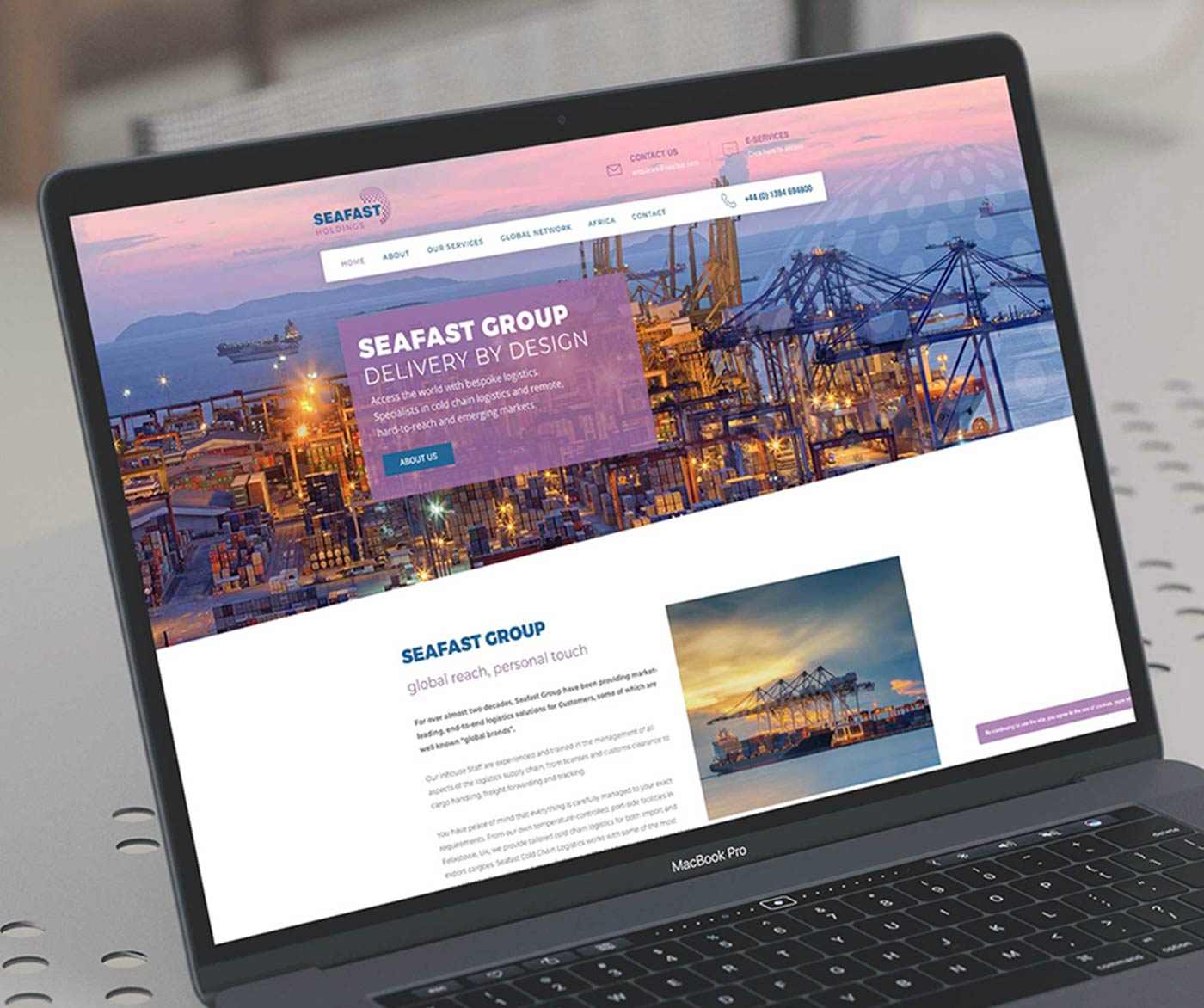Seafast Group, Design Print and Website Design