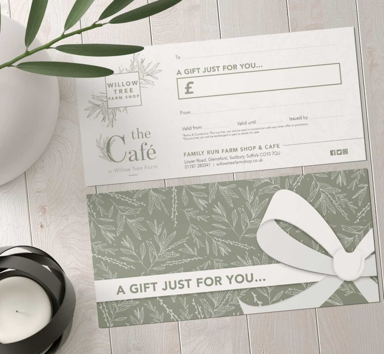 Willow Tree Farm Shop - Gift Voucher