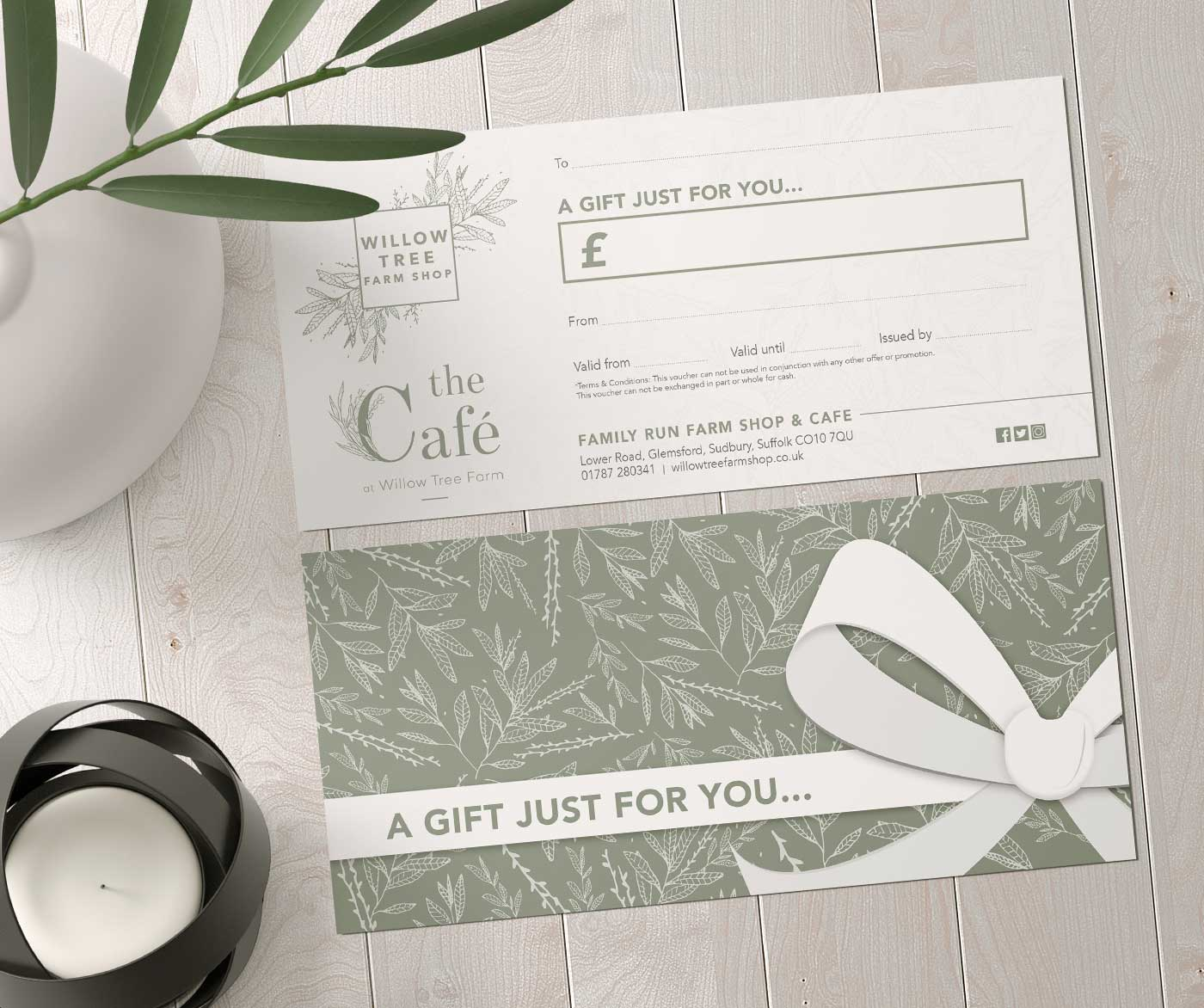 Willow Tree Farm Shop - Gift Voucher