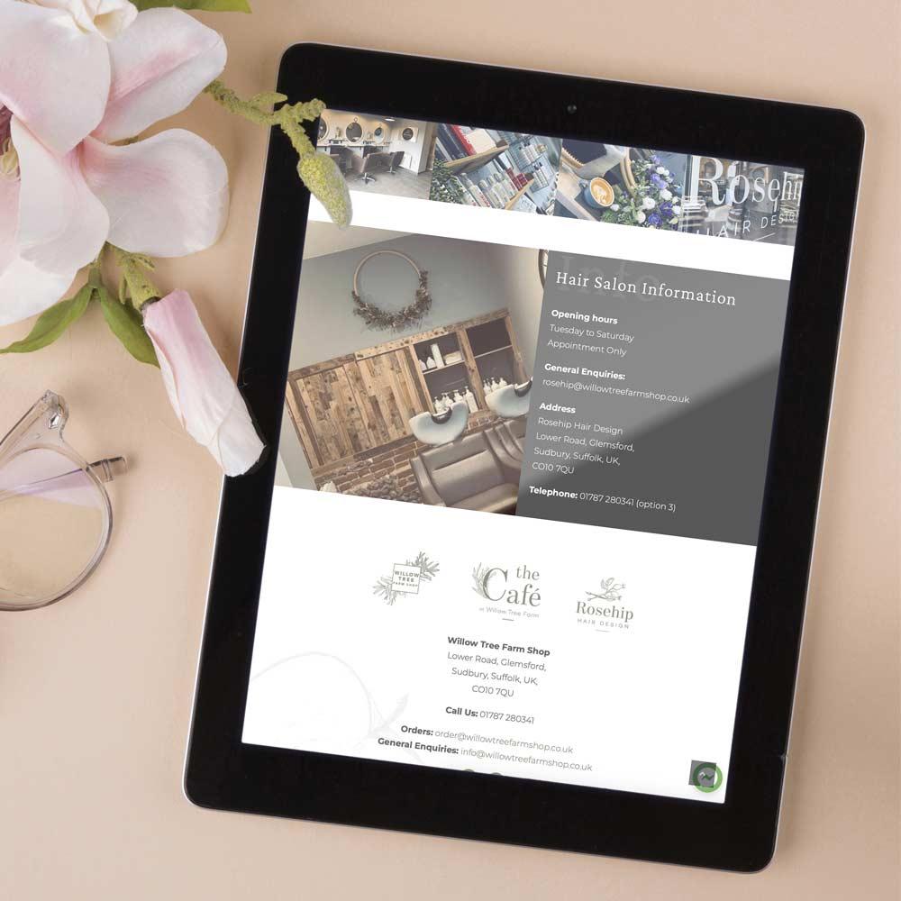 Willow Tree Farm Shop - Website - Glemsford, Suffolk